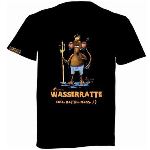 "GOLDRATTE T-Shirt ""WASSERRATTE No. 1"" - Herren (Limited Edition)"